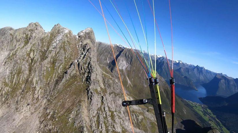 Paragliding Sunnmore Alps