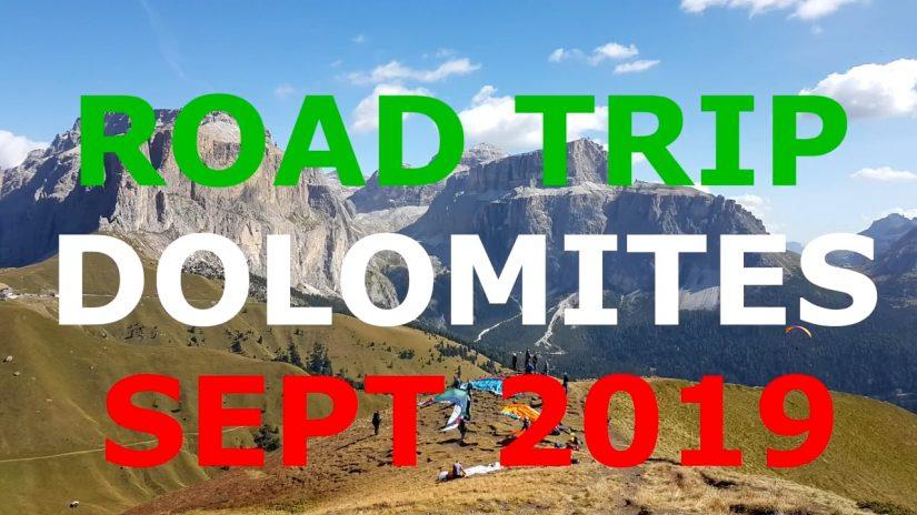 Road Trip Dolomites 2019