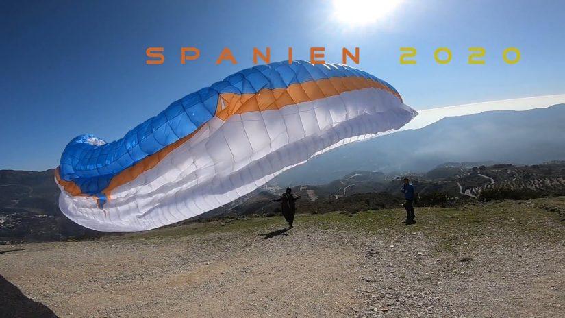 Spanien 2020 Faszination Paraglider