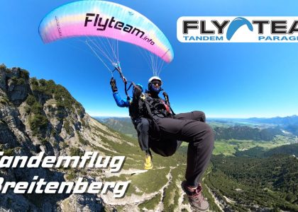 Tandem Paragliding Breitenberg Pfronten Allgu