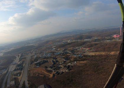 20.12.06 paragliding in korea Gwangmyung West Doxan Nee Full Film